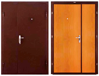 металлическая дверь мдф новый стиль